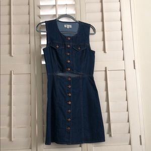 Madewell denim dress